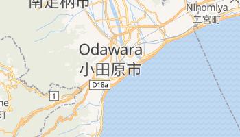 Mappa online di Odawara