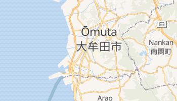 Mappa online di Ōmuta