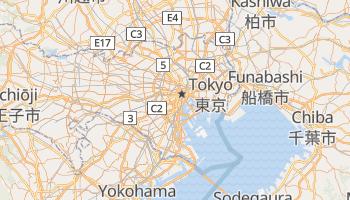 Mappa online di Tokyo