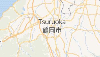 Mappa online di Tsuruoka