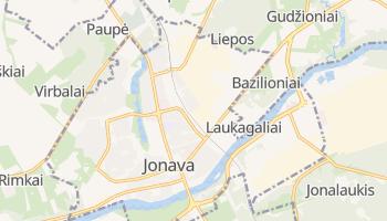 Mappa online di Jonava
