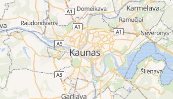Mappa online di Kaunas