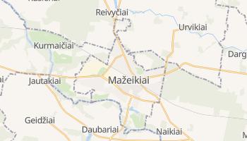 Mappa online di Mažeikiai