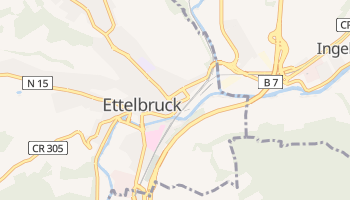 Mappa online di Ettelbruck