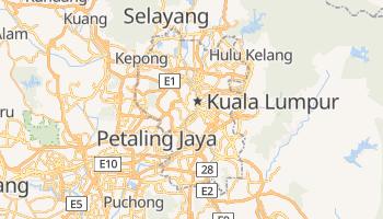 Mappa online di Kuala Lumpur