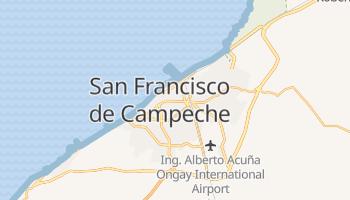 Mappa online di Campeche
