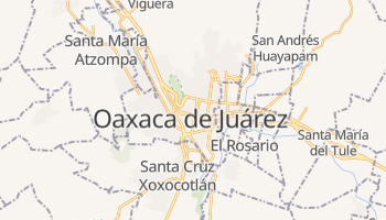 Mappa online di Oaxaca