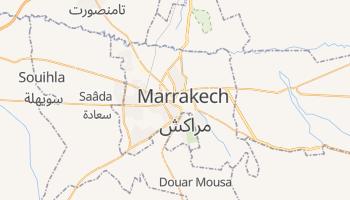 Mappa online di Marrakech