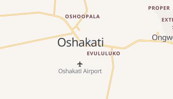Mappa online di Oshakati