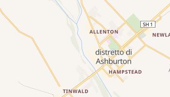 Mappa online di Distretto di Ashburton