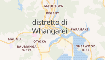 Mappa online di Distretto di Whangarei