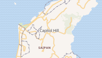 Mappa online di Saipan