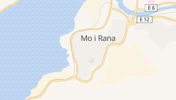 Mappa online di Mo i Rana