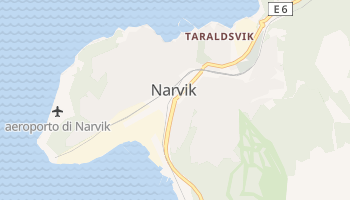 Mappa online di Narvik