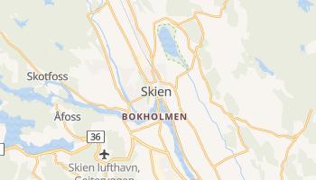 Mappa online di Skien