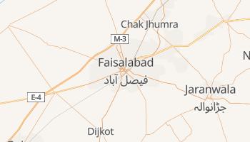 Mappa online di Faisalabad