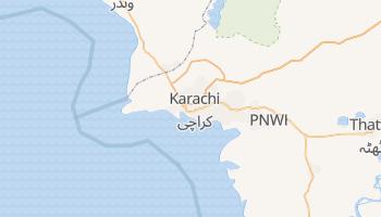 Mappa online di Karachi