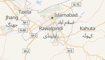 Mappa online di Rawalpindi