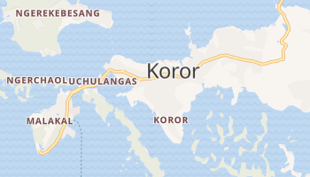 Mappa online di Koror