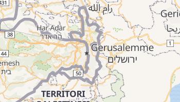 Mappa online di Gerusalemme Est