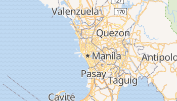 Mappa online di Manila