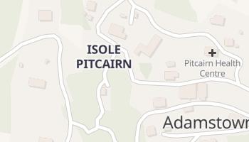 Mappa online di Adamstown