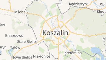 Mappa online di Koszalin