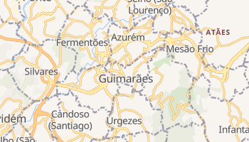 Mappa online di Guimarães