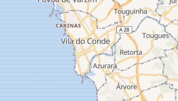 Mappa online di Vila do Conde