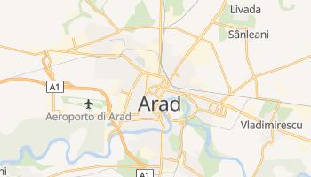 Mappa online di Arad