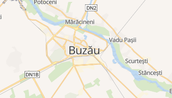 Mappa online di Buzău
