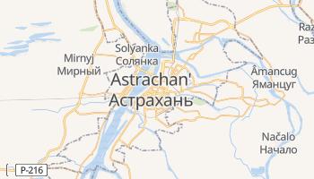 Mappa online di Astrachan'