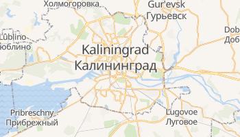 Mappa online di Kaliningrad