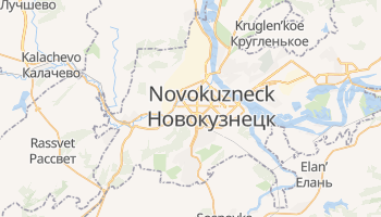Mappa online di Novokuzneck