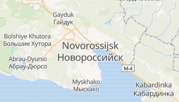 Mappa online di Novorossijsk