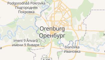 Mappa online di Orenburg