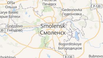 Mappa online di Smolensk