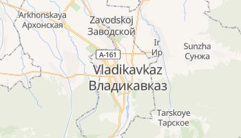 Mappa online di Vladikavkaz