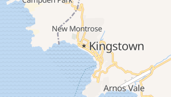 Mappa online di Kingstown