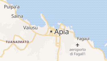 Mappa online di Apia