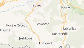Mappa online di Leskovac