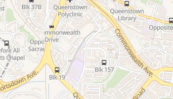 Mappa online di Queenstown