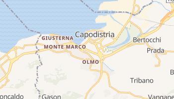 Mappa online di Capodistria