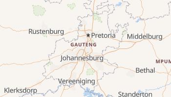 Mappa online di Gauteng