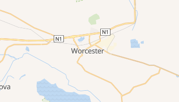 Mappa online di Worcester