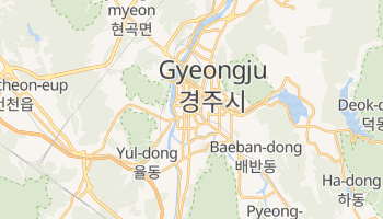 Mappa online di Gyeongju