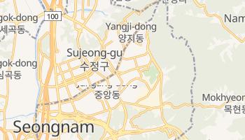 Mappa online di Seongnam
