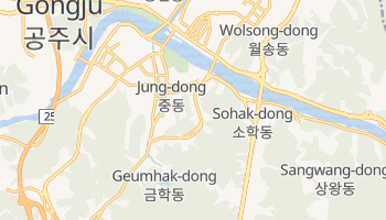 Mappa online di Suwon