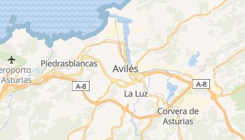 Mappa online di Avilés