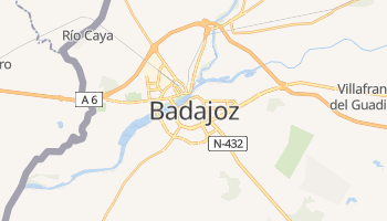 Mappa online di Badajoz